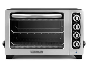 Countertop Convection Oven Kitchenaid : KitchenAid Convection Bake Countertop Toaster Oven KCO2220B Review