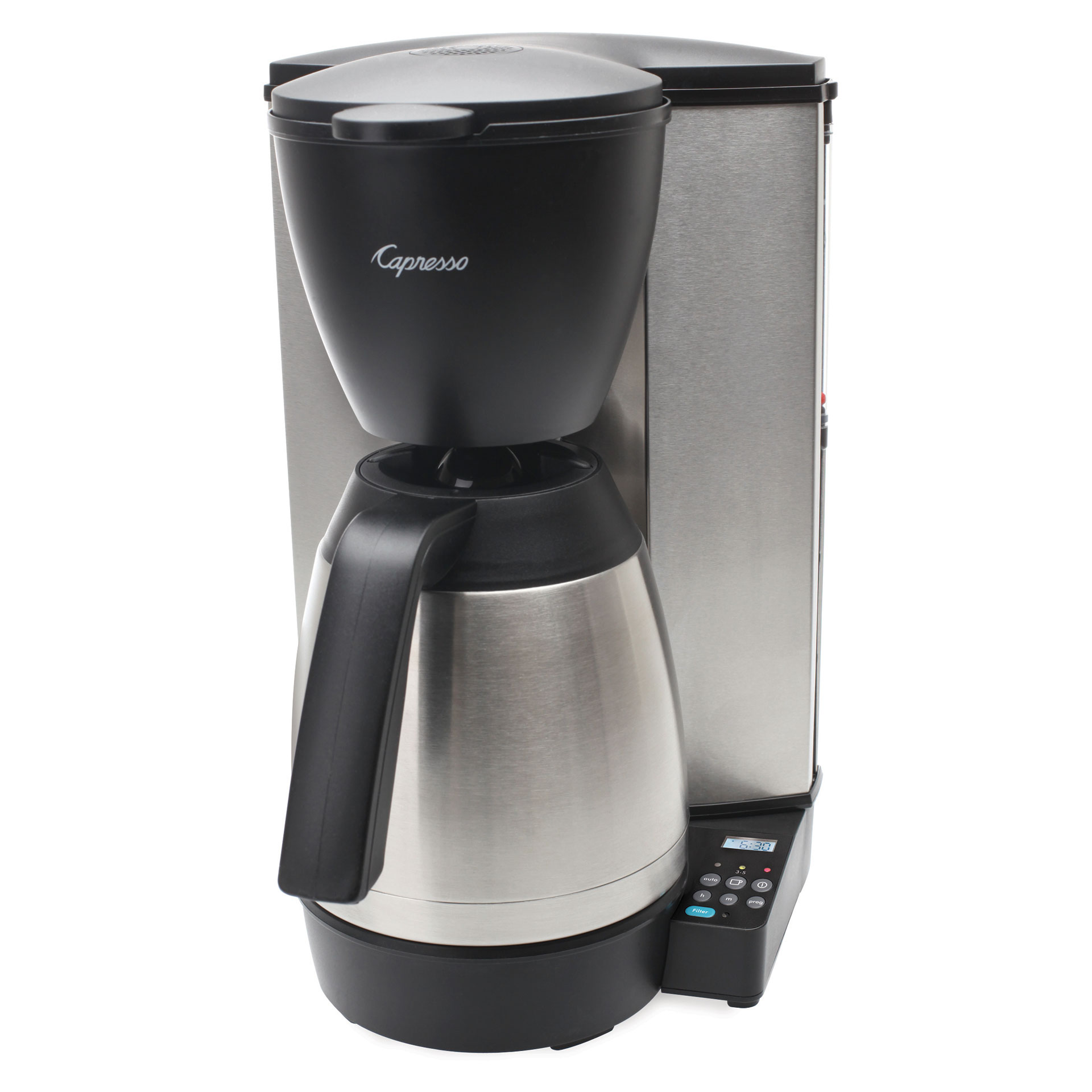 Coffee Maker With Carafe Reviews : Capresso 10-Cup Programmable Coffee Maker With Thermal Carafe #MT600 PLUS Review