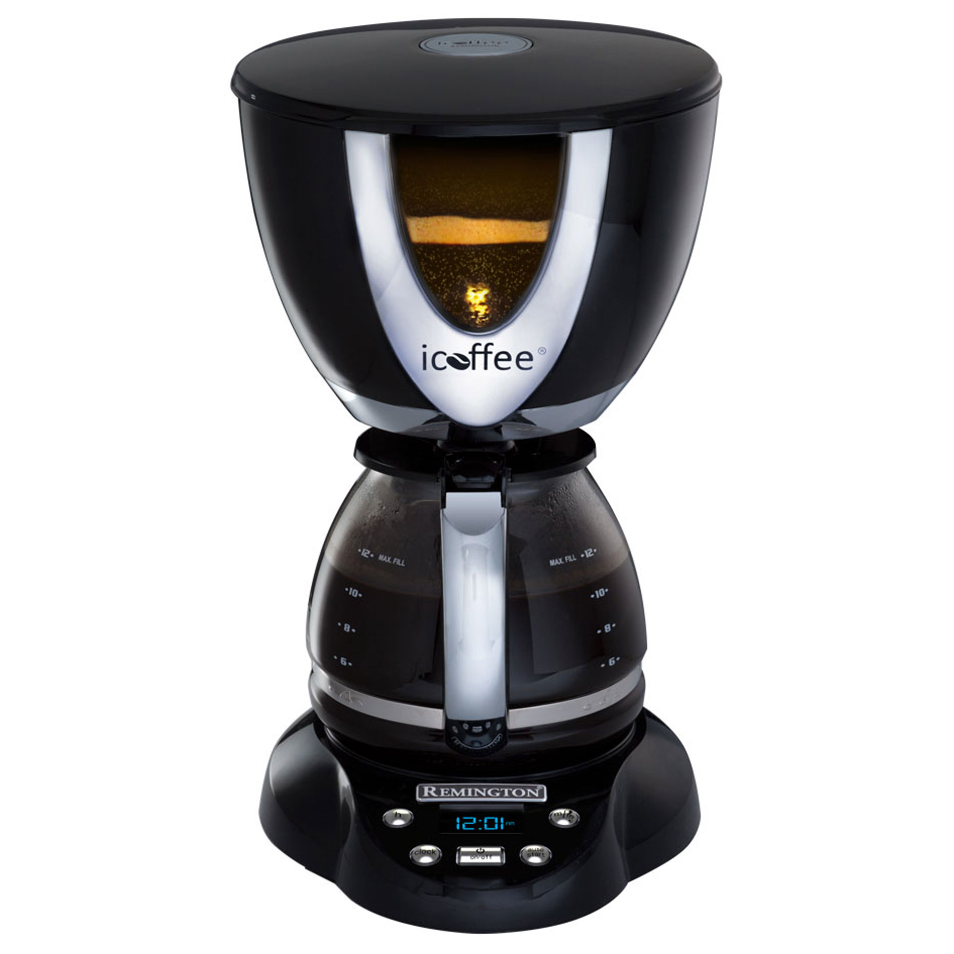 Icoffee Electric Coffee Maker : iCoffee by Remington SteamBrew Coffeemaker #67525 Review