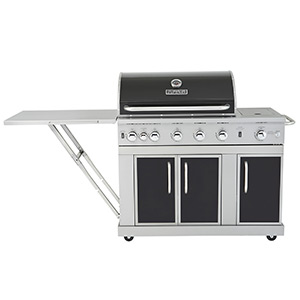 Master Forge 5 Burner Liquid Propane Gas Grill 6554 Review