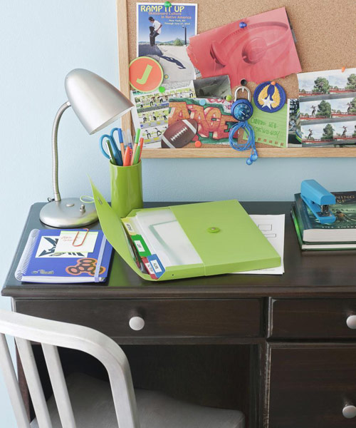 Back to school organization tips ideas for back to - How to organize your desk at home for school ...