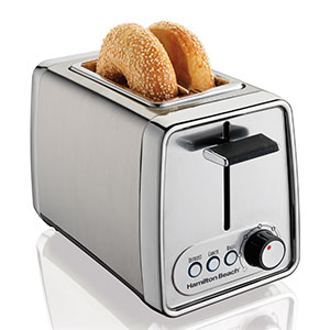 Hamilton Beach Modern Chrome 2 Slice Toaster Review