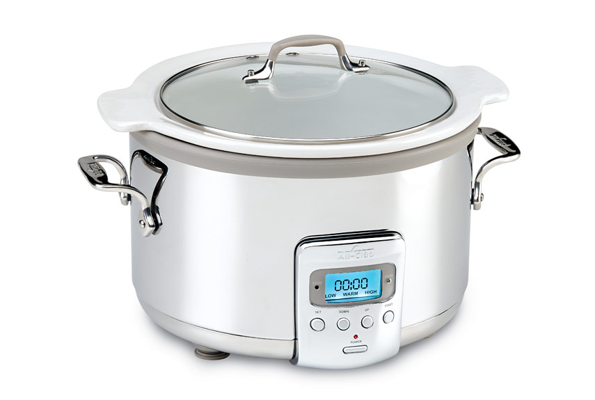 allclad 4 qt electric slow cooker with ceramic insert review