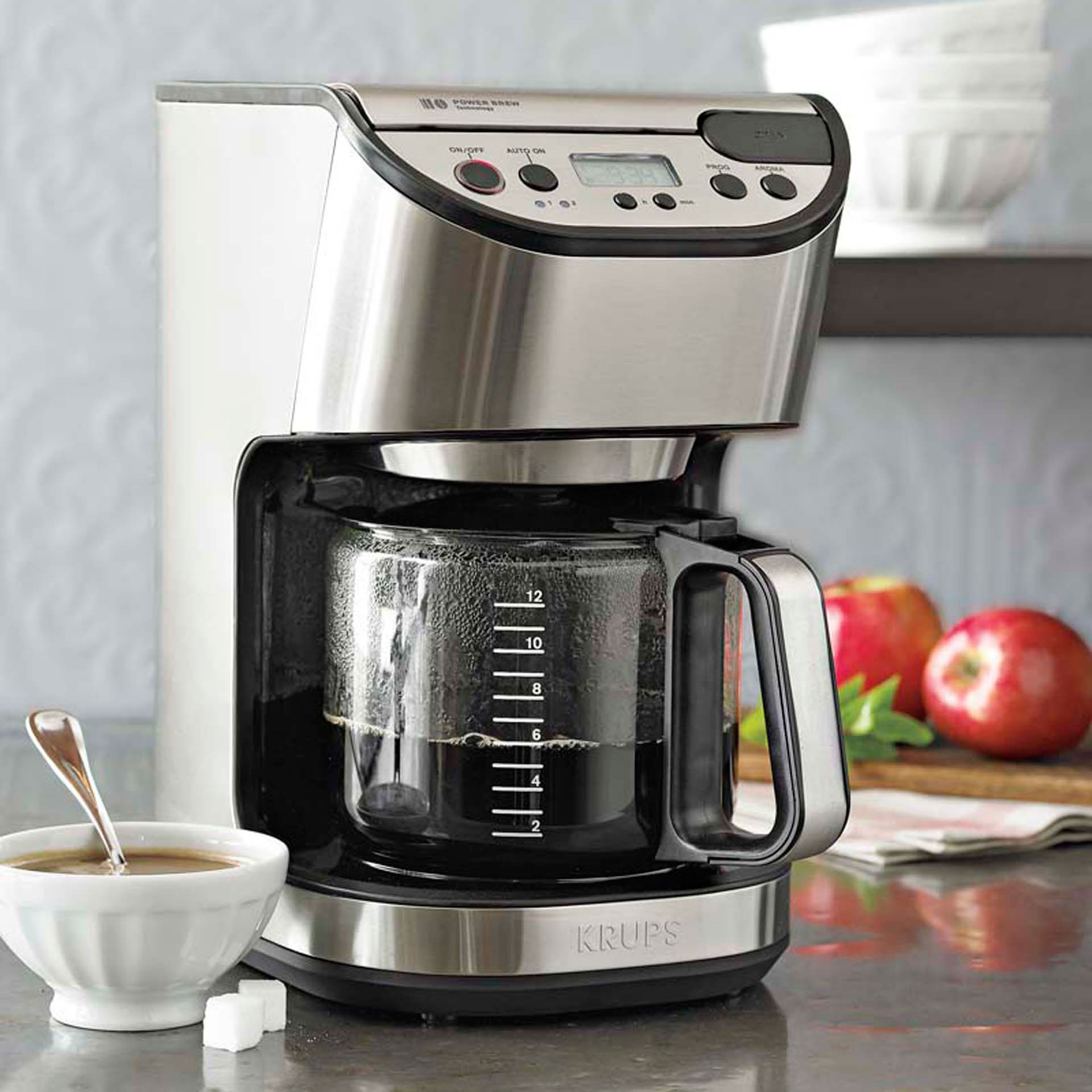 Princess One Cup Coffee Maker Review : Krups Precision 12-Cup Coffeemaker Review