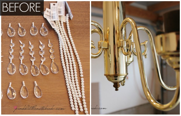 Princess Chandelier Diy Easy Home Decor Upgrade