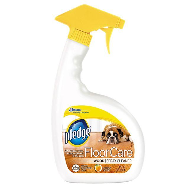Pledge FloorCare Wood Spray Cleaner - Pledge FloorCare Wood Spray Cleaner Review