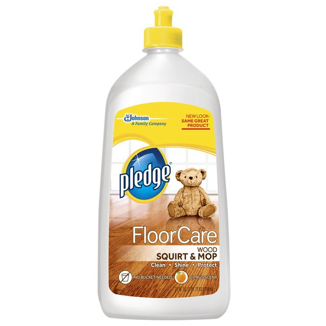 Pledge FloorCare Wood Squirt & Mop - Pledge FloorCare Wood Squirt And Mop Review