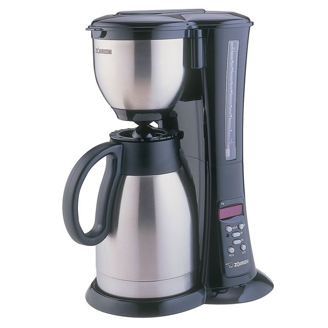 zojirushi fresh brew stainless steel thermal carafe coffee maker ecbd15 - Coffee Brewer
