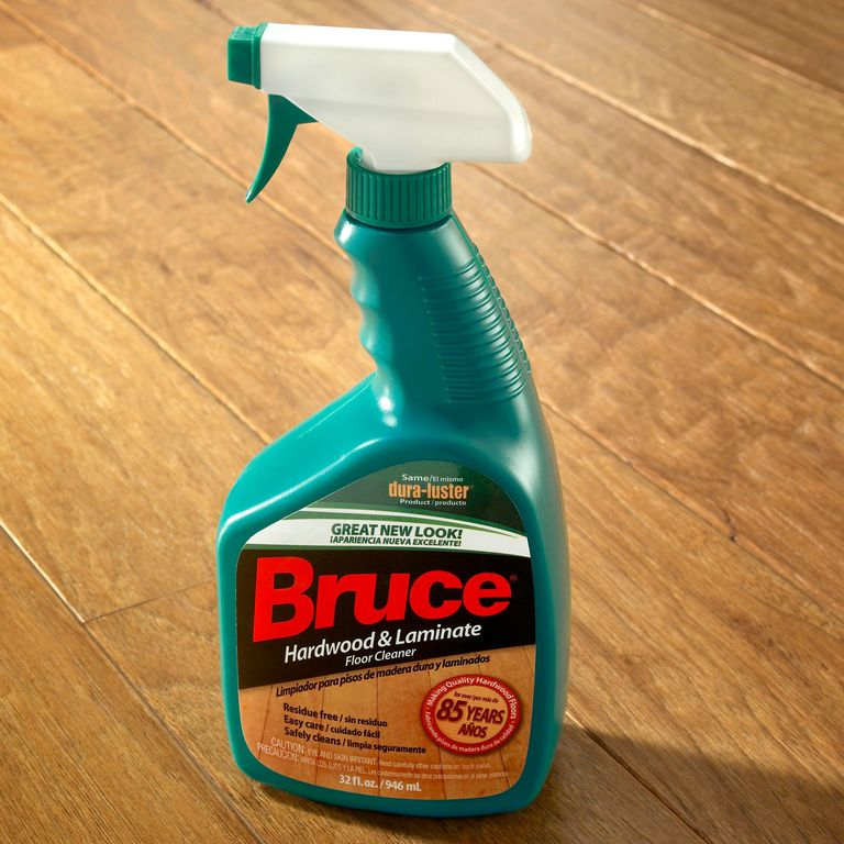 Bruce hardwood and laminate floor cleaner review for Hardwood floors cleaner