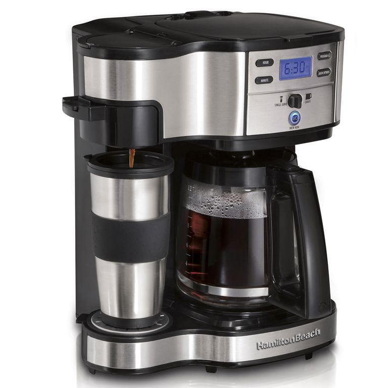 Good Housekeeping Coffee Maker Ratings : Hamilton Beach 2-Way Brewer #49980Z Review