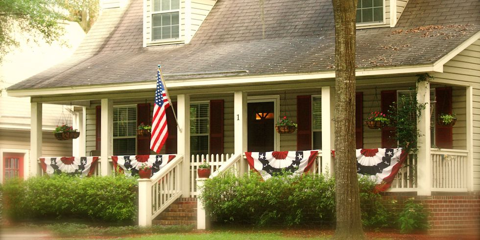 Add Americana Style To Your Outdoor Decor