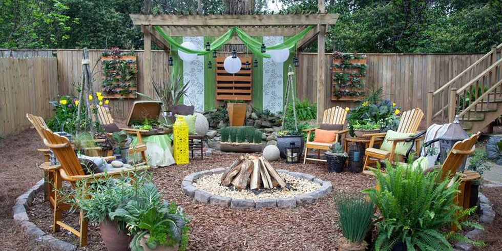 backyard oasis - Backyard Patio Design Plans