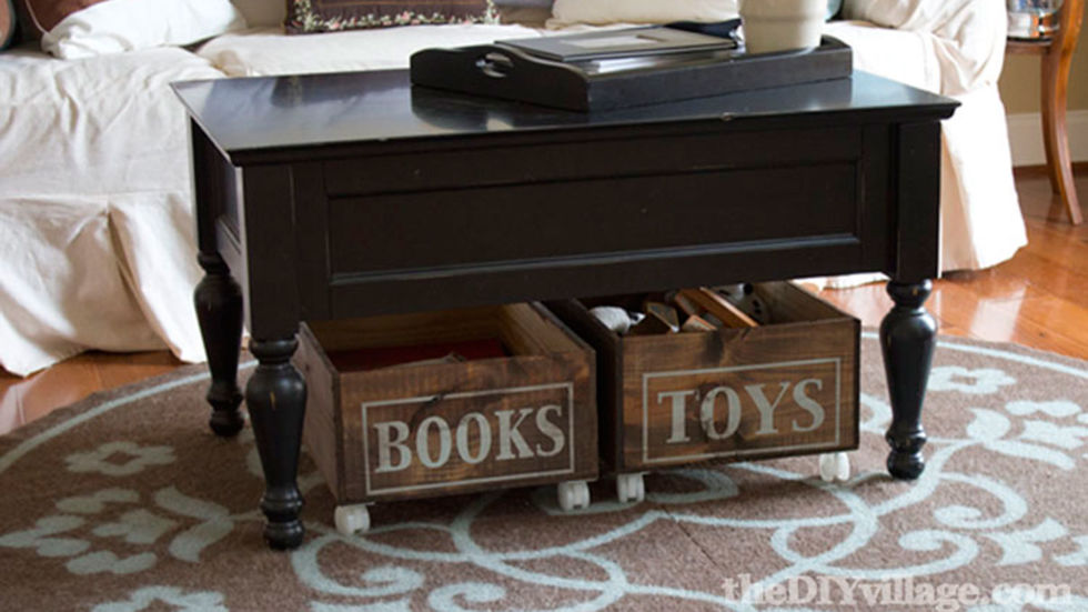 Upcycled home decor furniture