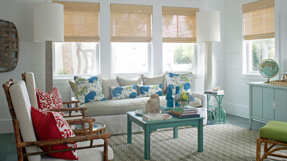 Laid Back Beach House. Colorful Home Decor   How to Add Color to Your Room
