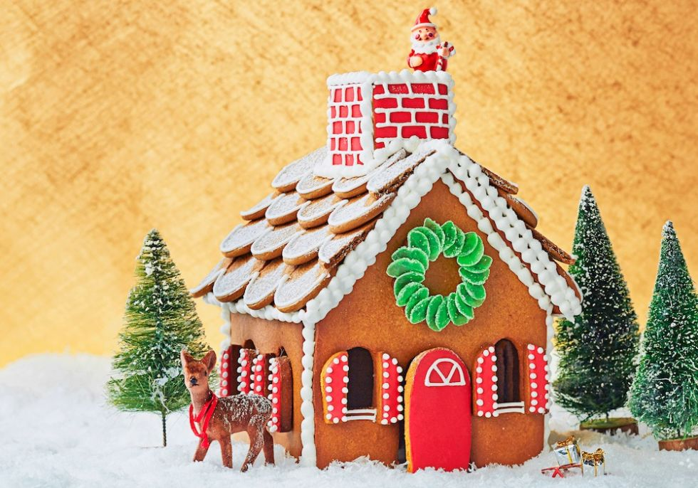 Good candies for gingerbread house decorating and