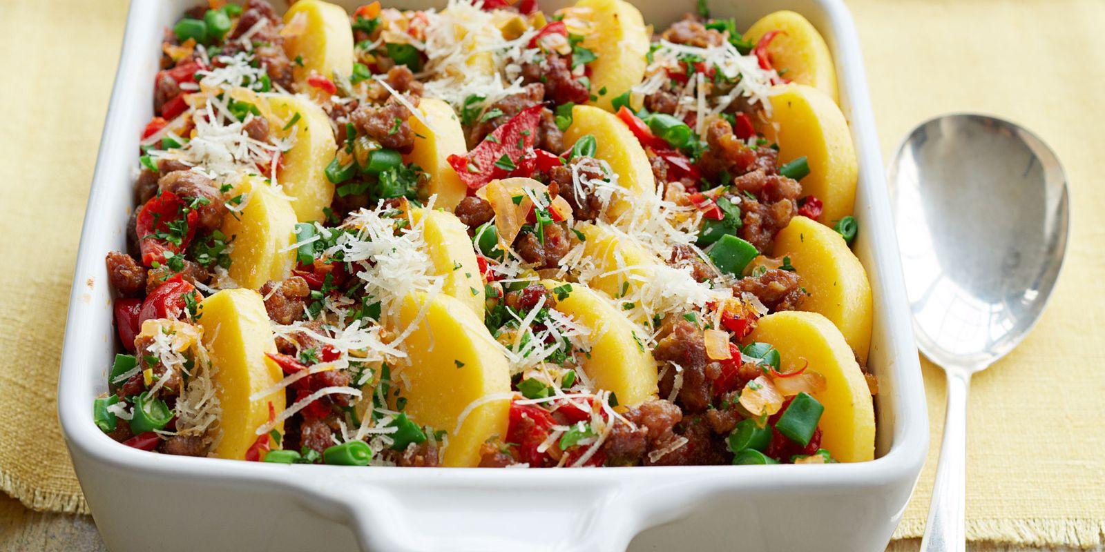 sausage and green bean casserole recipe