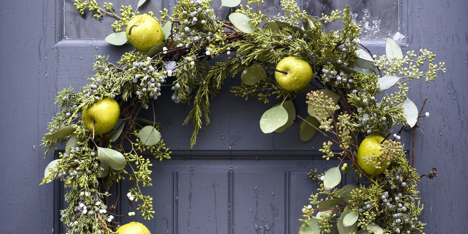 Fruit over the door christmas decoration - Fruit Over The Door Christmas Decoration 24