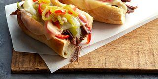 Pulled Cran-Turkey Sandwiches