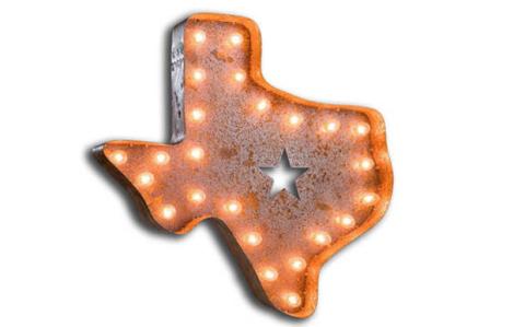 Texas Decor Texas Shaped Accessories
