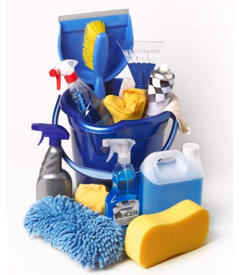 Basic Cleaning Tools And Products