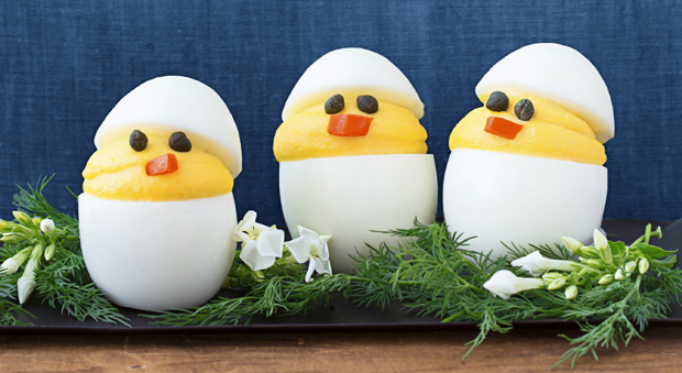 Deviled Chicks Recipe - Hard Boiled Egg Chicks for Easter