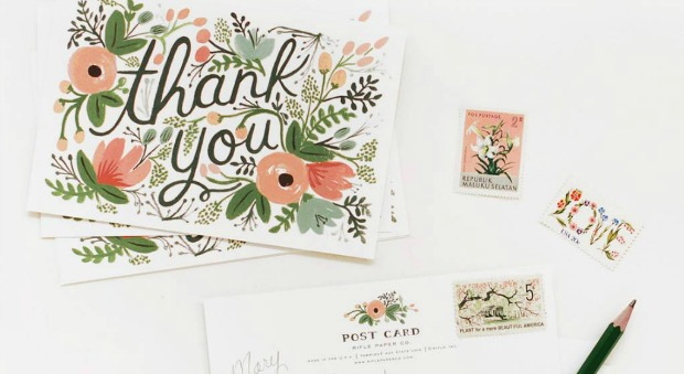 Thank You Note Etiquette Guidelines for Writing Thank You Notes – Writing Thank You Notes