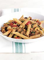 Penne Rigate with Sweet-and-Spicy Picadillo Sauce