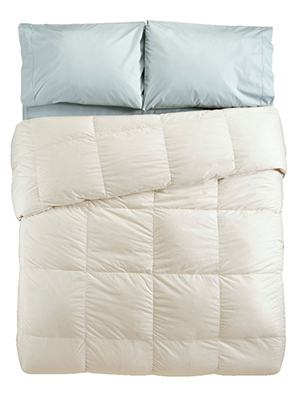 ll bean home baffle box stitch goose down comforter review