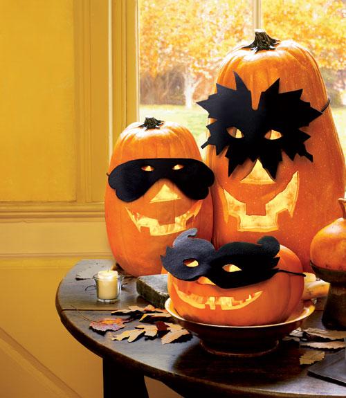 How to Make a Pumpkin Mask For Halloween Halloween Pumpkin Mask