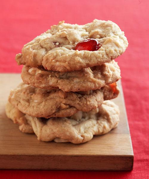 Paula Deen's White Chocolate Cherry Chunkies Cookie Recipe - Paula ...