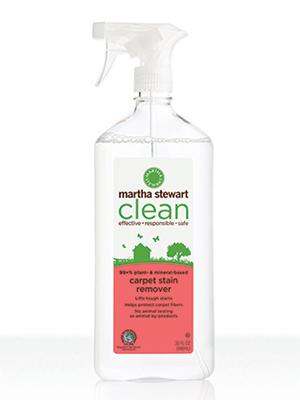 martha stewart clean carpet stain remover