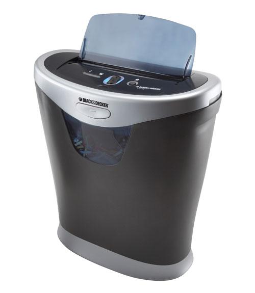 black and decker paper shredder Buy black & decker 8 sheet paper shredder w/ power boost technology at walmartcom.