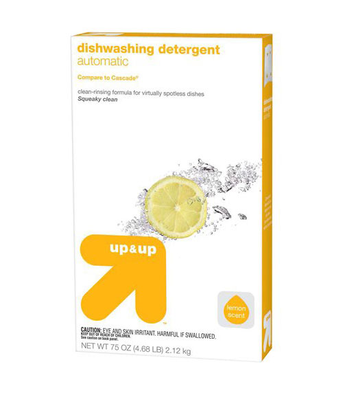 Up And Up Automatic Dishwashing Detergent Powder
