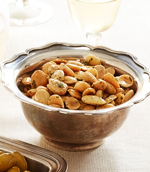 Thyme Roasted Marcona Almonds Recipe