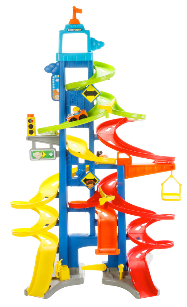 Fisher‐Price Little People® Wheelies City Skyway Review