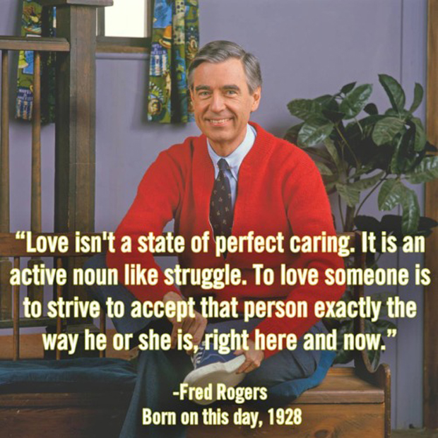 Love Finds You Quote: Life Lessons From Mr. Rogers