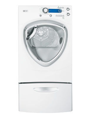 ge profile 7 5 cu ft stainless steel capacity frontload dryer