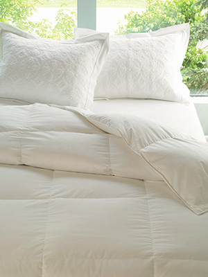 lands end essential goose down comforter