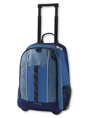 Lands End Wheeled Classmate Study Haul Backpack