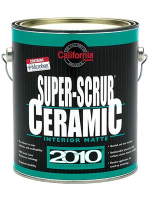 California 2010 Interior Super Scrub Ceramic