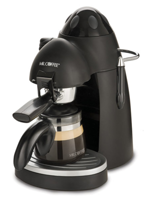 Mr Coffee Espresso Maker How To Use : Mr. Coffee Steam Espresso/Cappuccino Maker #ECM20 Espresso Maker Review