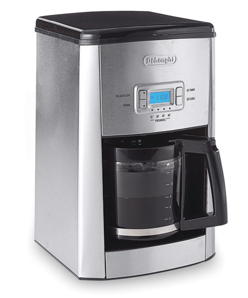 Delonghi Coffee Maker ~ Delonghi esclusivo dc t coffeemaker review