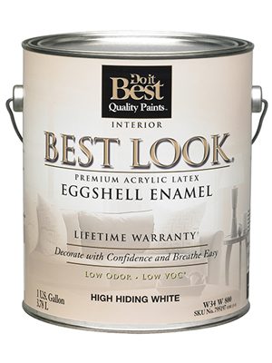 Do It Best Quality Paints Best Look Eggshell Interior Paint Review: best indoor paint brand