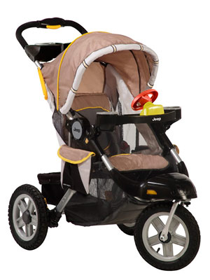 Jeep Liberty X Stroller Review