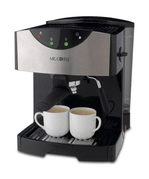 Coffee Maker Coffee Recipe : Mr. Coffee Pump Espresso/Cappuccino/Latte Machine #ECMP50 Espresso Maker Review