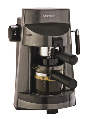 mr coffee steam espresso cappuccino maker ecm250 espresso maker
