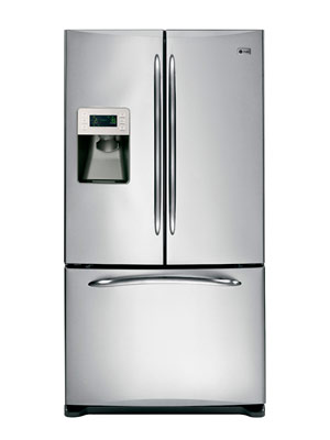 refrigerator 8 cu ft. ge profile 25 8 cu ft french door refrigerator pfss6pk f
