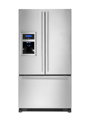 jenn air refrigerator side by side. jenn air euro style french door refrigerator jfi2589aes side by