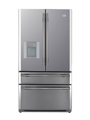 Elegant Haier Counter Depth French Door Refrigerator Pbfs21edas