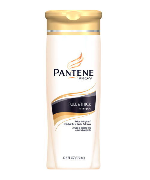 pantene pro-v full & thick collection shampoo review